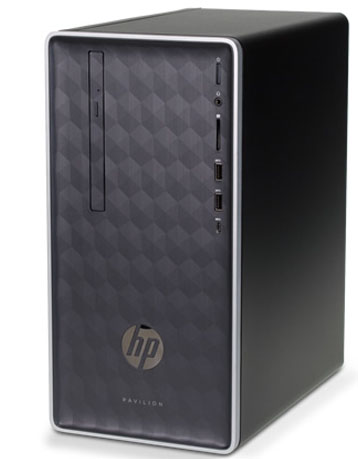 HP Pavilion 590 p0034l (4LY12AA) Intel Core i3 _8100 _4GB _1TB _VGA INTEL _WiFi _1118F