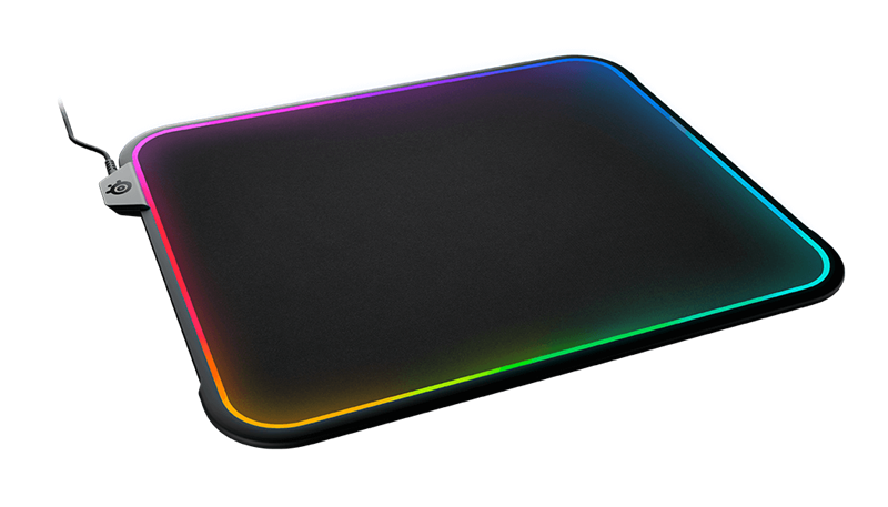 SteelSeries QcK Prism RGB Gaming Mouse Pad (63825) _1118KT