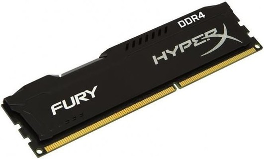 Ram PC Kingston 16GB 3000MHz DDR4 CL15 DIMM  (Kit of 4) HyperX FURY Black ( HX430C15BP2K4/16)