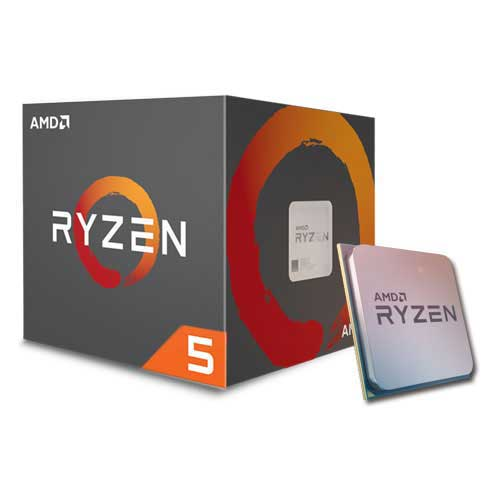 AMD Ryzen™ 5 1400 Processor (3.2GHz, 8MB Cache, up to 3.4GHz) Socket AM4 (618ELS)