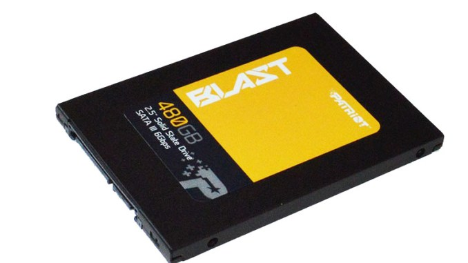 SSD Patriot Spark - 128GB (PSK128GS25SSDR)