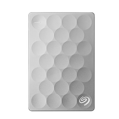 Seagate® Backup Plus Portable Drive 1TB Ultra Slim Silver (STEH1000300) 618SG