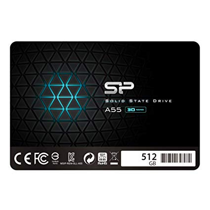 SSD Silicon Power A55 512GB | 560MB/s - 530MB/s
