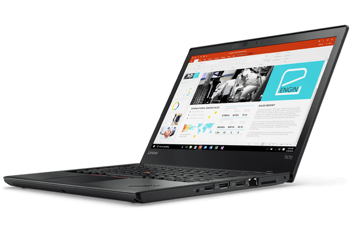 Lenovo Thinkpad T470s (20HGA08LVA) Intel® Kaby Lake Core™ i5 _7200U _8GB _256GB SSD _VGA INTEL _Full HD IPS _Finger _LED KEY _7617F
