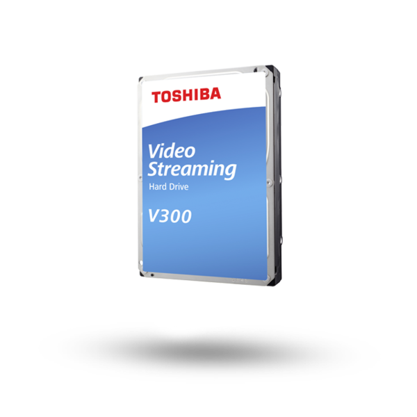 Toshiba V300 2TB Video Streaming HDD (HDWU120UZSVA) 618MC