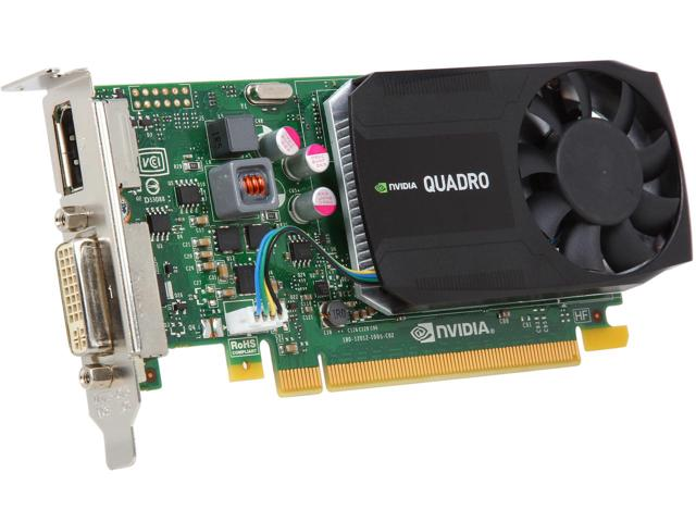 NVIDIA Quadro K620 2GB GDDR3 Graphics (J3G87AA)