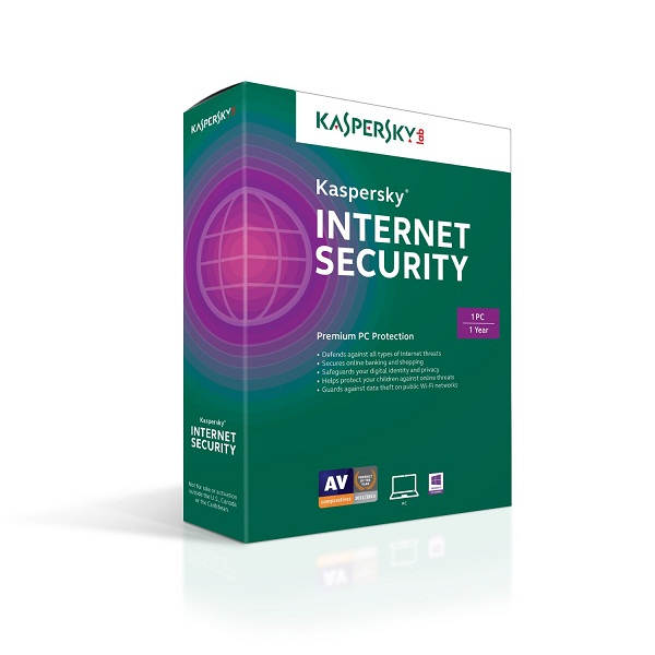 Kaspersky Internet Security 2017 1PC / 1 Year