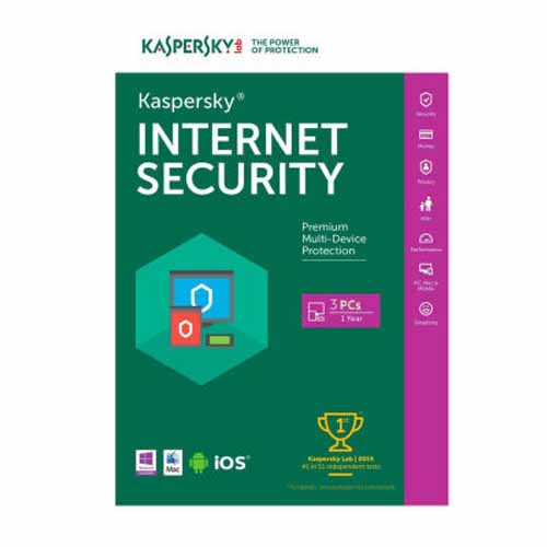Kaspersky Internet Security 2017 3PC / 1 Year