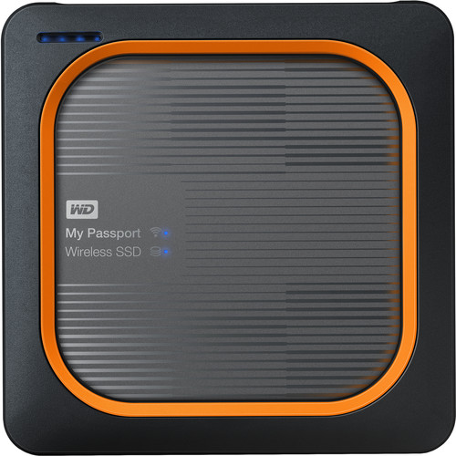 Ổ cứng WD My Passport Wireless SSD - 500GB (WDBAMJ5000AGY) 618MC