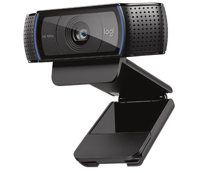 Webcam Logitech FULL HD Pro Webcam C920 1080p Video with Stereo Audio