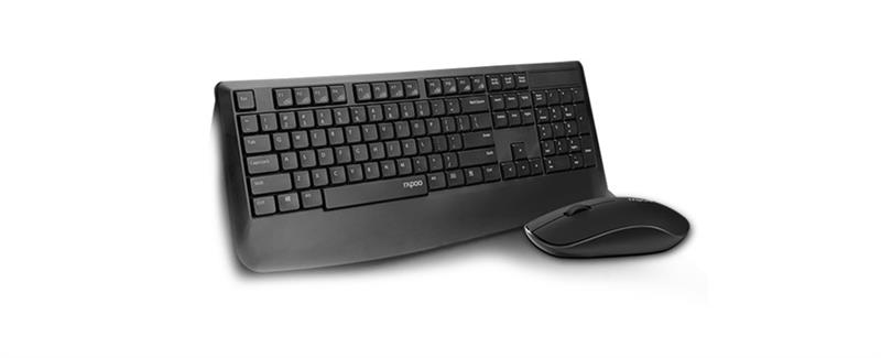 Combo Keyboard & Mouse Rapoo Wireless X1900 _518D