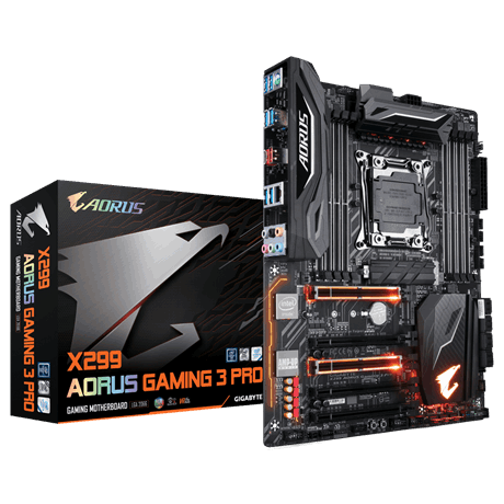 Mainboard GIGABYTE X299 AORUS Gaming 3 Socket 2066 _618S