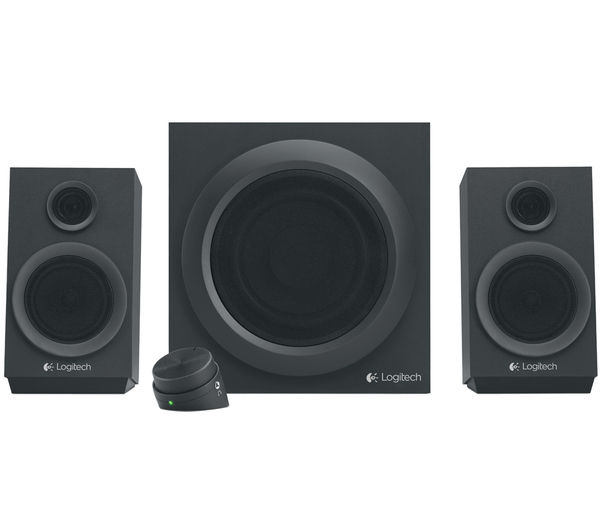 Logitech Z333 2.1 PC Speaker System with Subwoofer (980-001252)