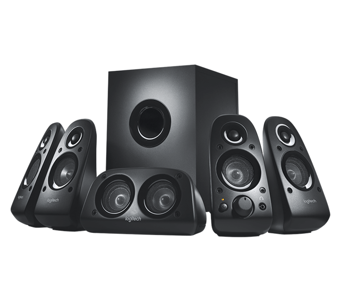Logitech z506 5.1 Surround Sound System with 3D Stereo (980-000462)