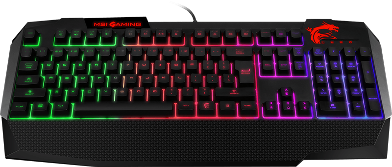 KEYBOARD GAMING MSI Vigor GK40 _1118KT