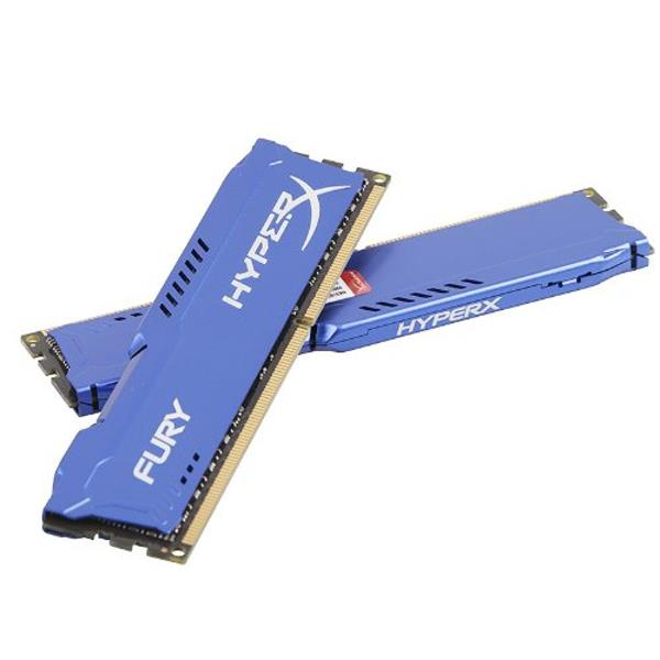 RAM PC Kingston 4G 1600MHZ DDR3 CL10 Dimm HyperX Fury Blue-HX316C10F/4