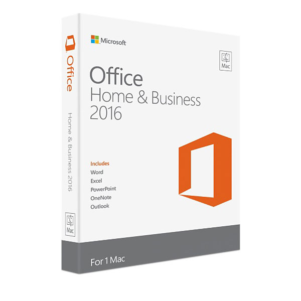 Office Mac Home Business 1PK 2016 English APAC EM Medialess P2 (W6F-00882)