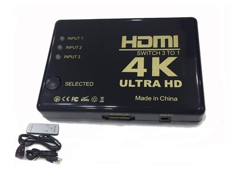 SWITCH HDMI 3-1 4K ULTRA HD 3D 318HP
