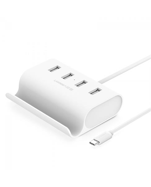 Ugreen USB-C to 4-Port USB 2.0 Hub with cradle 30288 GK