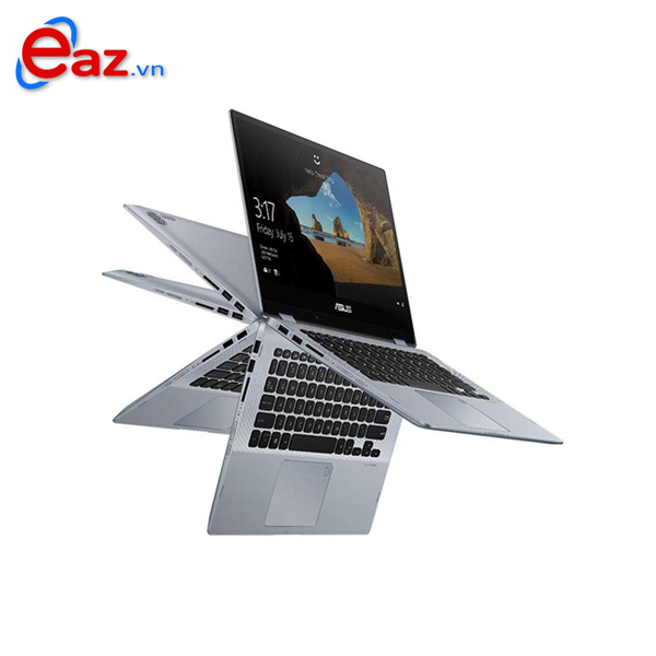 Asus Vivobook Flip TP412FA EC123T | Intel® Core™ i5 _8265U _4GB _512GB SSD PCIe _VGA INTEL _Win 10 _Full HD IPS _ Touch Screen _Finger _LED KEY _719D
