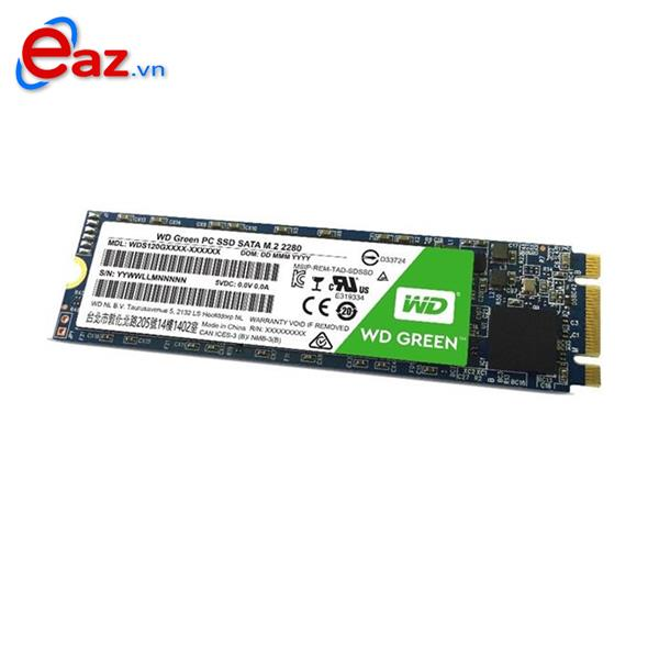 SSD WD 240GB Green SATA III M.2 2280 Internal (WDS240G2G0B) 518MT