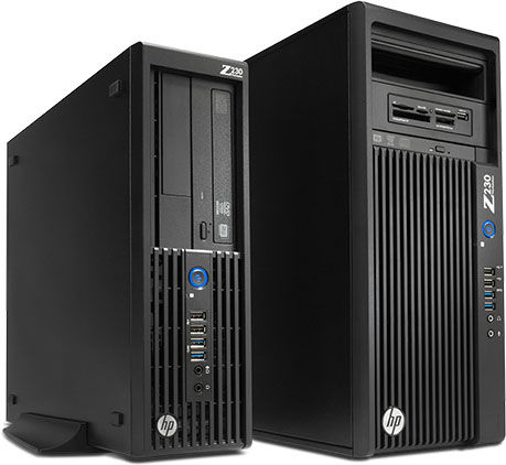 HP Workstation Z230 (D1P34AV) Intel Xeon E3-1226v3_4GB_500GB 7K2_VGA Quadro K620 2GB